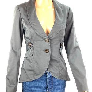 CAbi Work It Blazer Style #769 Grey Size 0